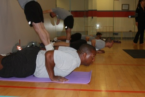 yoga as strength training US Army Solider