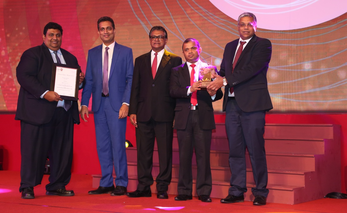 HNB Assurance Wins Big at CA Annual Report Awards